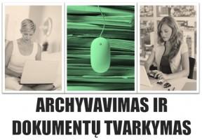 Archyvavimo ir dokumentų tvarkymo nuotoliniai kursai