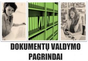 Dokumentų valdymo pagrindų nuotoliniai kursai