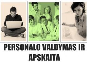 Personalo valdymo ir apskaitos nuotoliniai kursai