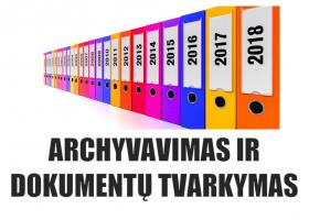 N02 – Archyvavimas ir dokumentų tvarkymas (nuotoliniu būdu)
