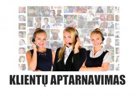 N05 – Klientų aptarnavimas (nuotoliniu būdu)