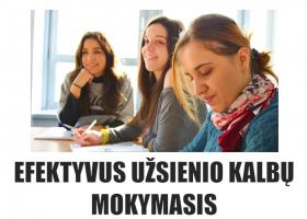 Efektyvus užsienio kalbų mokymasis