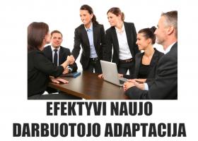 N09-Efektyvi naujo darbuotojo adaptacija (nuotoliniu būdu)