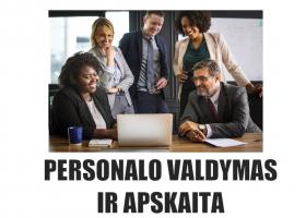 N04 – Personalo valdymas ir apskaita (nuotoliniu būdu)